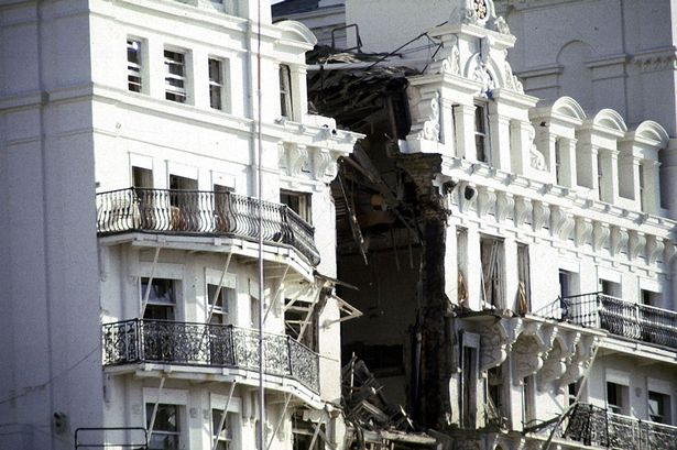 The IRA bomb devastated the Grand Hotel in Brighton